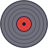 Musik-Schallplatte