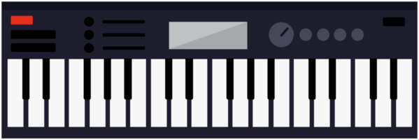 música midi piano