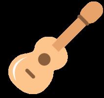 schattige muziek icoon gitaar