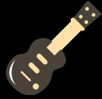 ícone bonito da música guitarra clássico