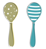 Music instrument maraca png