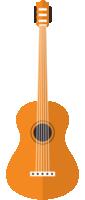 instrumento musical guitarra acústica