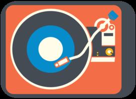 attrezzatura musicale dj turn table