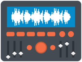 Music equipment equilizer