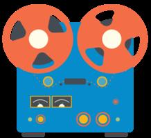 registrazione di apparecchiature musicali