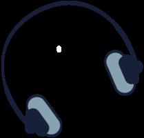 hoofdtelefoon voor muziekapparatuur