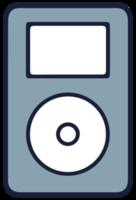 muziekapparatuur pod