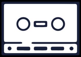 muziekapparatuur cassette
