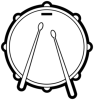 Music instrument drum