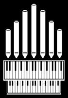Music instrument church piano