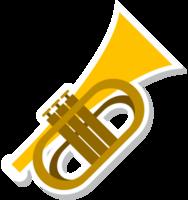 Music instrument trumphet
