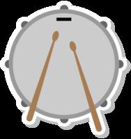 Musikinstrumententrommel