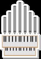 Music instrument piano church