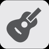icône de l'instrument de musique guitare