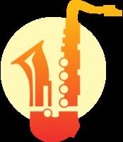 Musikinstrument Saxophon