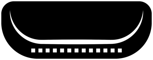 muziekinstrument pictogram mondharmonica