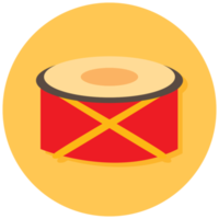 Musikinstrument Icon Drum