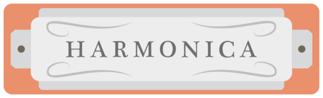 instrument de musique à vent harmonica
