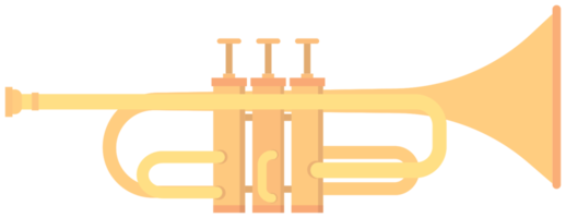 blaasmuziek instrument trompet