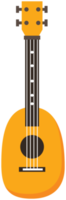 färgglada ukulele