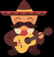 Mariachi player guitar