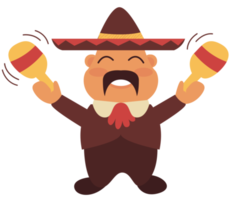 mariachi-speler maraca