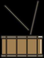 tarola para instrumento de percussão