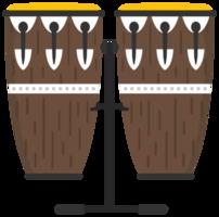 instrumento de percussão conga