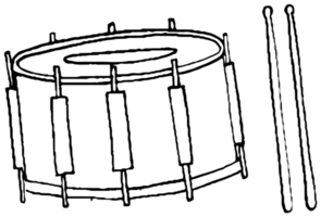 tamburo musicale