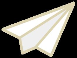 avião de papel png