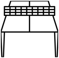 ping ping table png