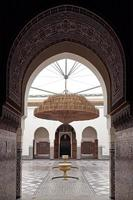 Museum of Marrakech, Morocco.