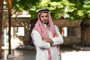 uomo d'affari arabo moderno