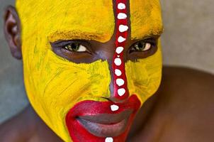 rosto tribal