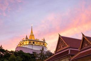 Templo de la montaña de oro.