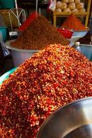 Red chilli powder photo