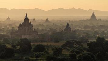 Old pagoda in Bagan photo