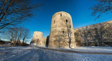 Old fortress since 14 century located in Izborsk