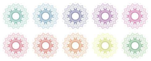mandala patroon set