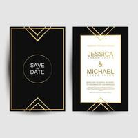 Luxury Cover for invites  vector