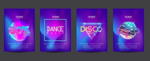 Neon electronic flyer