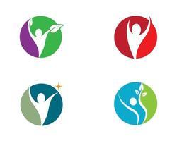 symboles de la santé humaine vecteur