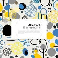 Abstract colorful pattern background for template design. vector