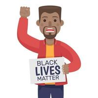 vidas negras importam protesto vetor