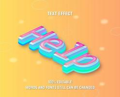 Neon Pink, Blue Isometric vector
