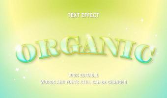 grüner bearbeitbarer Pastelltext vektor