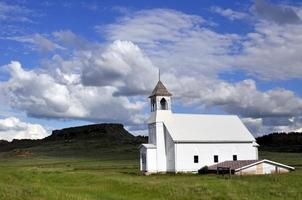 iglesia de madera vieja