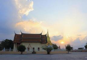 temple at Wat Sukhan Tharam photo