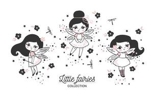 Cute little fairies collection