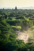 Templos en Bagan, Myanmar foto